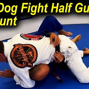 How To Pass The Dog Fight Half Guard Directly To The Mount by Christian Diaz