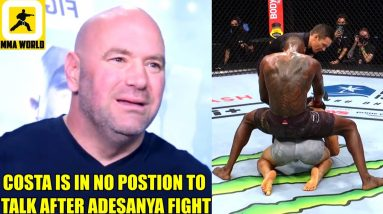 Dana White absolutely blasts Paulo Costa for complaining about UFC fighter pay,Dana on Fabia,UFC 263