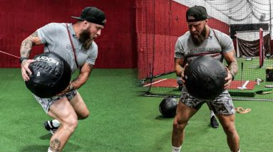 3 Med Ball Exercises to Increase Knockout Power for MMA & Combat Sports   #shorts