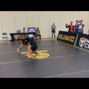 Andrew Wiltse Got A 30 Sec Submission In One Of His Matches At The BJJFanatics Tournament In TN