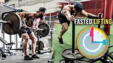 Training in a Fasted State: Lower Body Workout for Strength & Size | Phil Daru