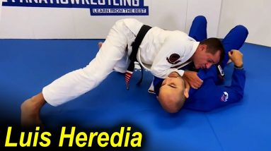 A Very Good Connection Between A BJJ Takedown And The Paper Cut Choke by Luis Heredia