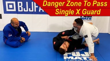 The Concept Of The Danger Zone To Pass The Single X Guard by Nick Salles and Danny Maira