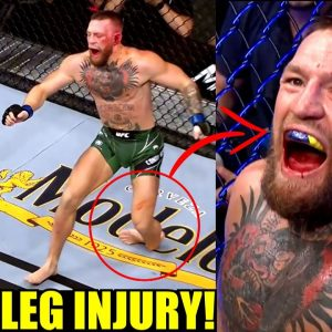 MMA Community Reacts to Conor McGregor snapping his leg and losing to Dustin Poirier,UFC 264 Results