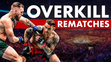 10 MMA Grudge/Rematches That Definitely Didn't Need To Happen