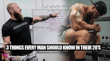 3 Things Every Man Should Know in Their 20's   Phil Daru