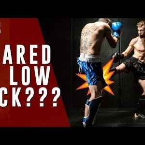 Are You Scared to Throw Low Kicks? You Don't Have To Be!!