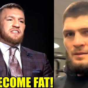 Conor McGregor attacks Ex--Champ Khabib for retiring from MMA and discredits his undefeated record