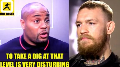Conor McGregor absolutely crossed the line by taking a dig at Khabib's deceased father,Chris Weidman