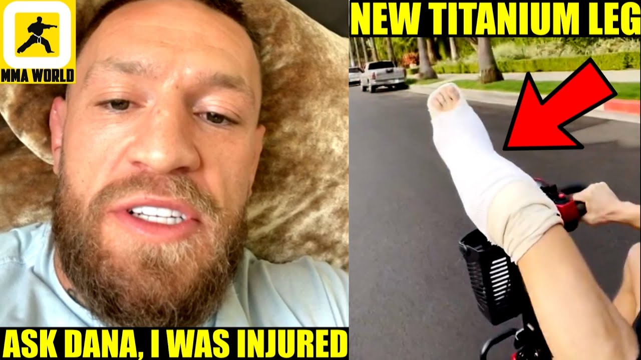 Conor McGregor leaves hospital and confirms he fought ...