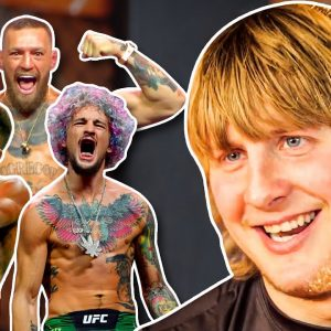 UFC Newcomer Paddy Pimblett Breaks Down the UFC's Top Personalities