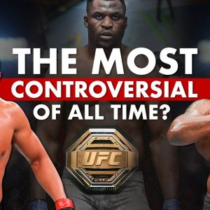 Ciryl Gane vs Derrick Lewis: The Most Controversial Interim Title Fight Ever