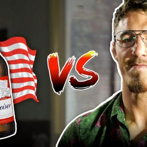 British UFC Fighter Tom Aspinall Rates American Beers