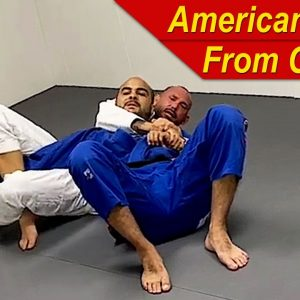 How To Do An American Lock From The BJJ Crucifix by Paul Schreiner