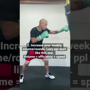 No BS mini-guide to Top Hand Speed for Boxing #boxing #handspeed