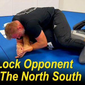 How To Foot Lock (Toe Hold) Your Opponent From The North South by Josh Barnett