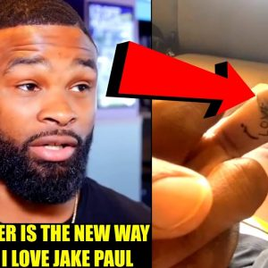 Tyron Woodley explains why he got 'I Love Jake Paul' tattooed on his middle-finger, Israel on Jones