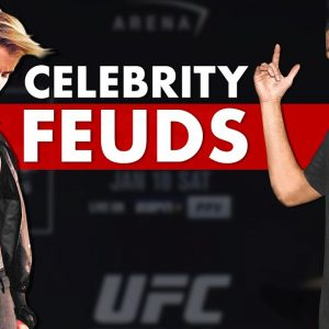 10 Absolutely Absurd Beefs Between MMA and Celebrities