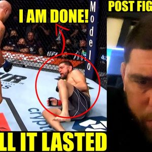 MMA Community React to the exciting come back fight of Nick Diaz versus Robbie Lawler,UFC 266 Result