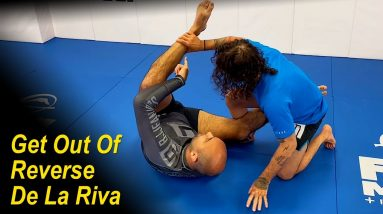 How To Get Rid Of The Reverse De La Riva No Gi by Junny Ocasio