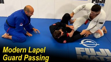 Modern Lapel Guard Passing by Nick Salles and Danny Maira