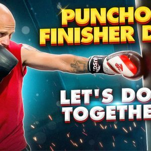 Punchout Finisher Drill (1000 punches, actually 1100) | Let's do it together!