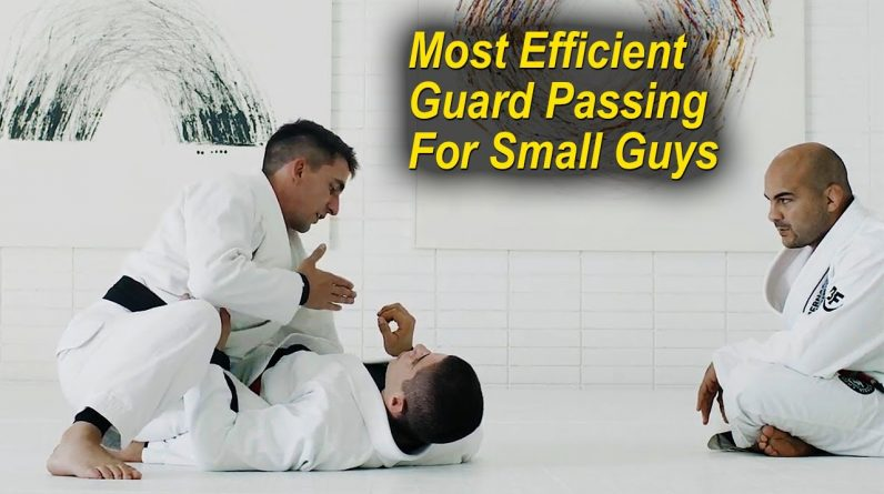 The Most Efficient Guard Passing Sequence For Small Guys by Guilherme Mendes