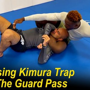 Surprising Kimura Trap From The Guard Pass by Rida Haisam