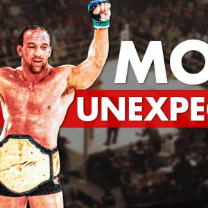 The 10 Most Unexpected Tourney Winners In UFC History