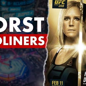 The 10 Worst PPV Main Events In UFC History