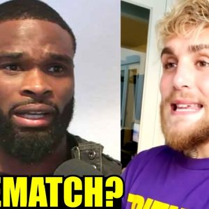 Tyron Woodley isn't getting rematch with Jake Paul even after getting the 'I love Jake Paul' tattoo