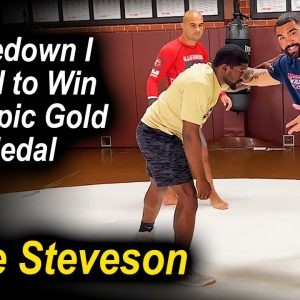 The Takedown Gable Steveson Did To Win The Olympics In The Last 6 Seconds