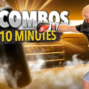10 Combos in 10 Minutes | Boxing Workout