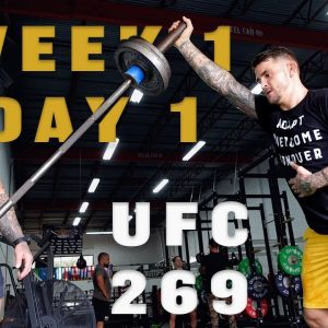 Dustin Poirier Fight Camp | Strength and Power for MMA | Phil Daru
