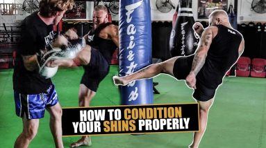 How to Properly Condition Your Shins & Prevent Injury for MMA & Combat Sports | Phil Daru