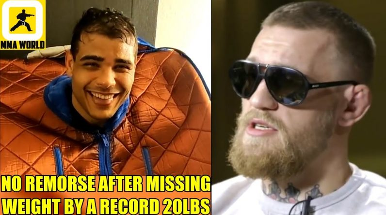 MMA Community thrash Paulo Costa for missing weight by an entire division,Conor McGregor on Ferguson