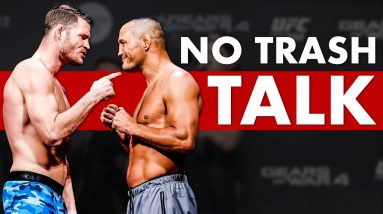 The 10 Most Popular Fighters Who Didn't Need Trash Talk