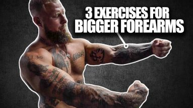 Top 3 Exercises for Bigger Forearms! | Phil Daru