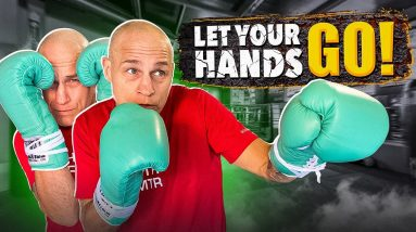 Why You're Afraid to LET YOUR HANDS GO in Sparring, and how to fix it